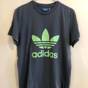 adidas classic logo t-shirt large